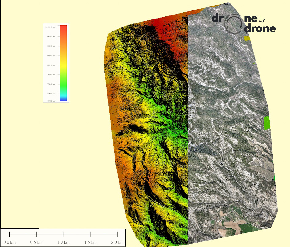 Drone 3d Mapping >> Orthophotography, photogrammetry and 3D land modelling with drones