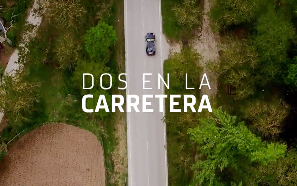 Two on the Road\', new section of Cuarto Milenio from drone